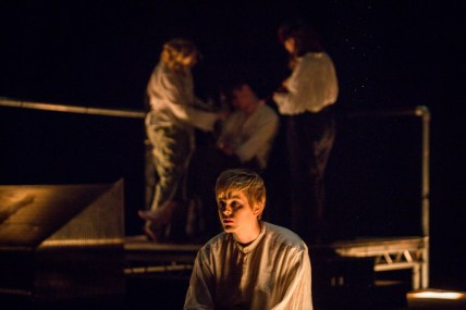 Samuel Beckett Theatre: Salomé by Oscar Wilde, 2016. Photo by Ste Murray